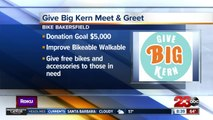 Bike Bakersfield looking for donations during Give Big Kern Meet & Greet