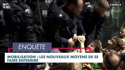 Mobilisation : les nouveaux moyens de se faire entendre - Bonsoir ! du 04/05 - Canal+