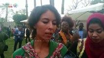ياسمين صبرى تزرع شجرة فى مبادرة مصرية فرنسية بيئية
