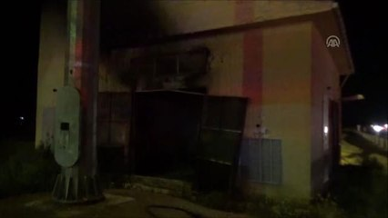 Silivri'de Trafo Yangını