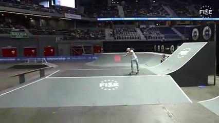 Danny Leon - 1st semi final skate - FISE European Madrid 2019