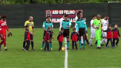 Felino - Solierese 1-0 highlights e interviste