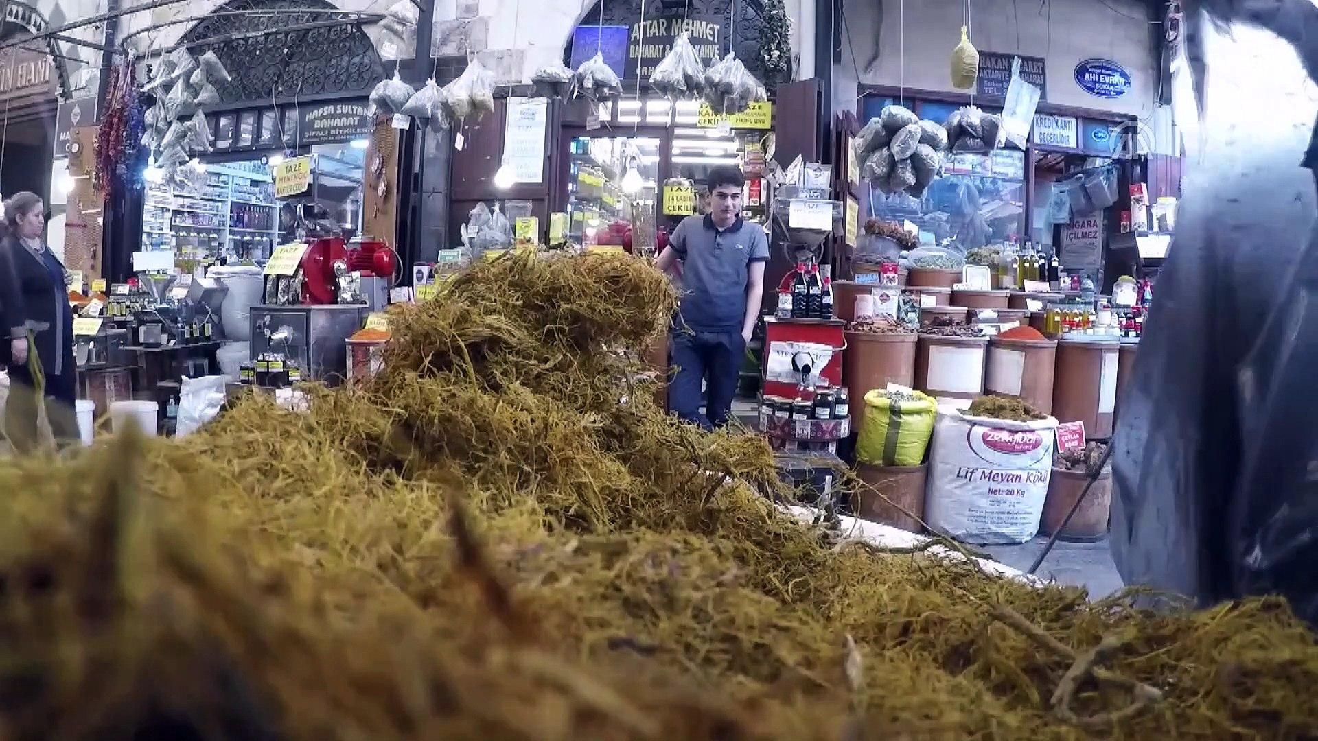Güneydoğu'nun ramazan içeceği 'meyan şerbeti' - GAZİANTEP
