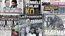 La blessure de Mohamed Salah inquiète beaucoup, l'AS Roma toujours dans l'attente d'un nouveau coach