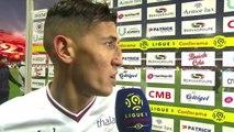 Réaction de Fayçal Fajr après EA Guingamp / SMCaen