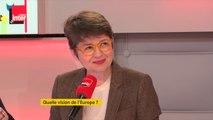 """Raphaël Glucksmann (Place publique-Parti socialiste) : """"Je vois bien que le président de la République essaie de faire la campagne la plus courte possible"""""""