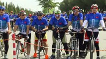 'Avrupa Günü'nü bisikletle Osmangazi Köprüsü'nden geçerek kutladılar - KOCAELİ