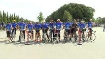 """Avrupa Günü""""Nü Bisikletle Osmangazi Köprüsü'nden Geçerek Kutladılar"""