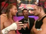 Jeff Hardy and HHH interview - Raw 11-26-07