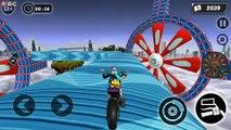 Mega Ramp GT Moto Bike Rider Stunts 2019 - Impossible Motor Games - Android Gameplay FHD