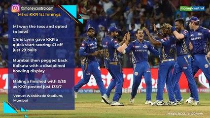 IPL 2019 MI vs KKR highlights: As it happened - Moneycontrol com