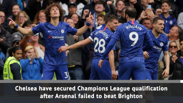 Chelsea qualify for Champions League
