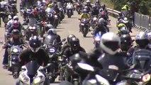 Miles de moteros dejan Jerez tras el Gran Premio de motociclismo