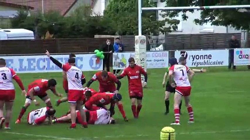 Rugby F3 32è de finale : Auxerre éliminé par Évreux mais invaincu à Bouillot