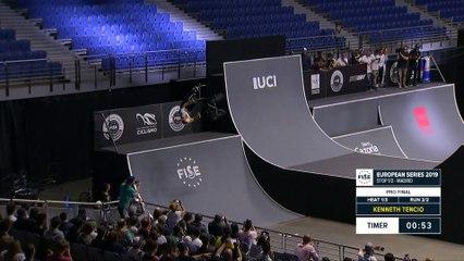 Kenneth Tencio - 1st BMX Freestyle Final - FISE European Series Madrid 2019
