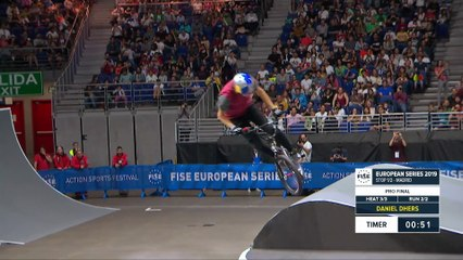 Daniel Dhers - 2nd BMX Freestyle Final - FISE European Series Madrid 2019