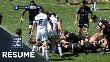 PRO D2 - Résumé Provence Rugby - Colomiers: 27-8  - J30 - Saison 2018/2019