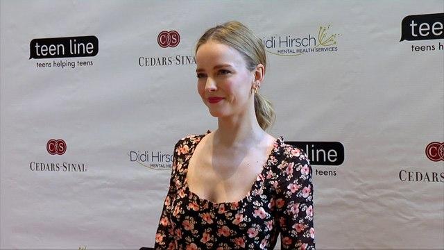 Allison Miller 2019 Teen Line's Food for Thought Brunch Red Carpet