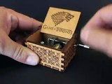 Game Of Thrones: Winter Is Comming - Hand Cranked Wooden Music Box