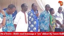Bédié rend hommage au SG PDCI, Tanon Koffi