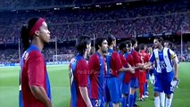 Ronaldinho & Lionel Messi vs Espanyol 2006-07 (H) - Supercopa 2006