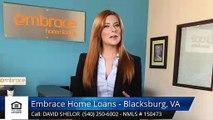 David Shelor Embrace Home Loans - Blacksburg, VA BlacksburgExceptional5 Star Review by Brando...