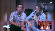"""""""Bouche à pip-"""" : Serge Gainsbourg échappe à une gifle à l'époque de """"Ciel mon mardi"""" - Regardez cette séquence culte !"""