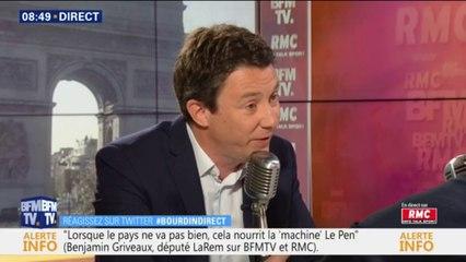 """Benjamin Griveaux : """"Je ferais tout pour faire baisser le niveau de pollution"""" dans Paris et la petite couronne"""