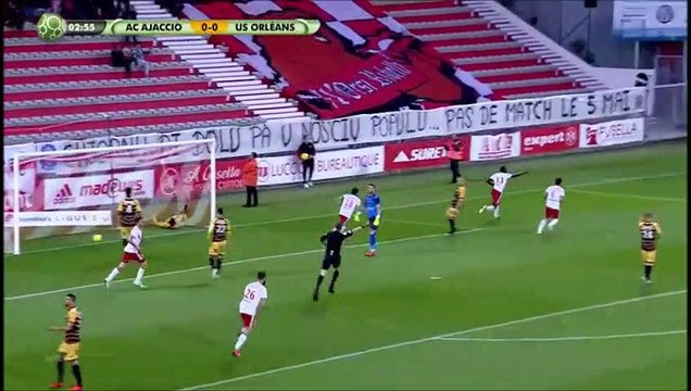J36 : Ajaccio 1-0 USO (03/05/2019)