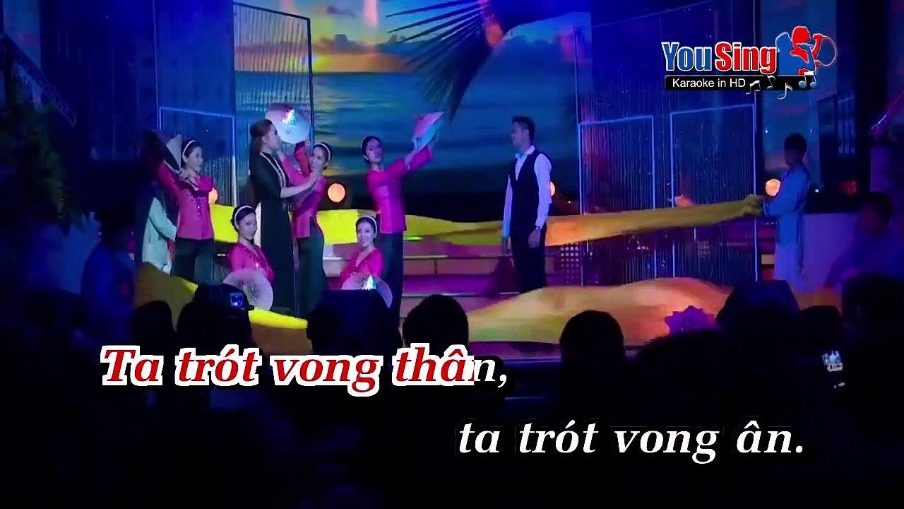 [Karaoke] Vó Ngựa Trên Đồi Cỏ Non - Châu Ngọc Tiên Ft. Minh Luân [Beat]