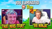 Ninja FINALLY Gets His REVENGE and Kills Tfue 1v1! Ninja vs TFUE | Fortnite Battle Royale