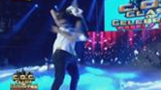 LUV U stars Michelle and CJ nakakakilig ang performance sa It's Showtime Clash of Celebrities