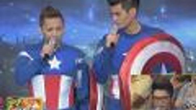 Jhong Hilario vs Fabio Ide bilang Captain America