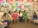 Ara Mina, LJ Moreno, Dimples Romana and Melissa Ricks share the joys of being pregnant
