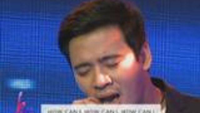 """Ang soulful rendition ni Erik Santos ng """"How Can I"""""""