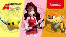 Mario Tennis Aces - Trailer Luma, Boom Boom et Pauline