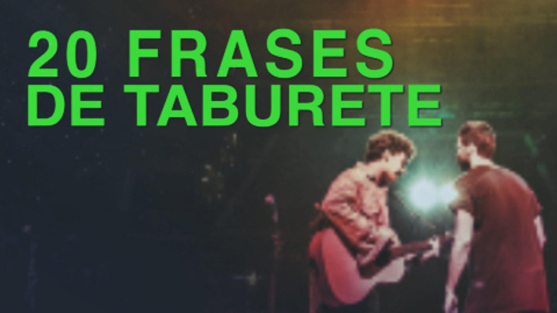 20 Frases De Taburete Grupo Indie Referencia En Madrid