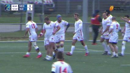 2018-19 REIC Men XV - M5 NETHERLANDS Vs  SWITZERLAND   Rugby