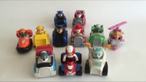 11 Paw Patrol Racers Chase Marshall Rocky Rubble Zuma Skye Everest Ryder Robo Dog Rescue Marshall Sp