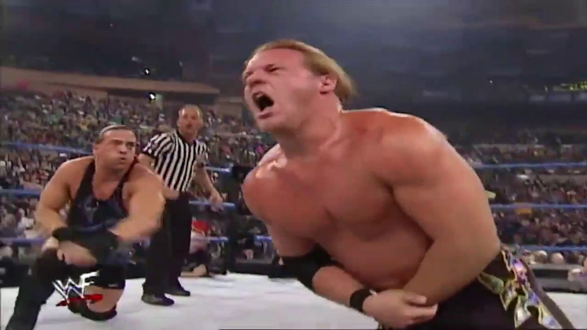 Rob Van Dam & The Rock vs Chris Jericho & Test SD January 10, 2002 by wwe entertainment
