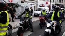 Gilets jaunes : les motards défilent à Vesoul