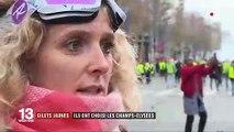 """""""Gilets jaunes"""" : ils ont choisi les Champs-Élysées"""