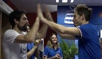 Coupe Davis finale #FRACRO le retour aux vestiaires de Herbert/Mahut