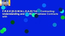 F.R.E.E [D.O.W.N.L.O.A.D] Tribal Contracting: Understanding and Drafting Business Contracts with