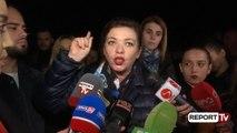 Report Tv - Protesta e banorëve tek Unaza e Re/Nora Malaj: Po shfaqet luftë civile