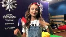 Eurovision Junior 2018 : les confessions d'Angélina avant le show en direct