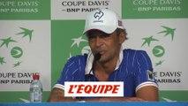 Noah «Une atmosphère incroyable» - Tennis - Coupe Davis