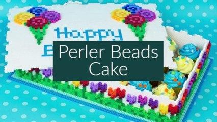 Perler Beads Cake!!!