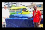 RTG - Don du Rotary Club Gabon au Centre hospitalier Universitaire de Libreville