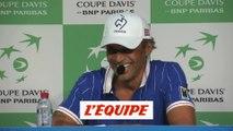 Noah «Je ne vais rien vous dire» - Tennis - Coupe Davis
